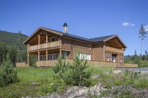 vakantie noorwegen zonnig huis